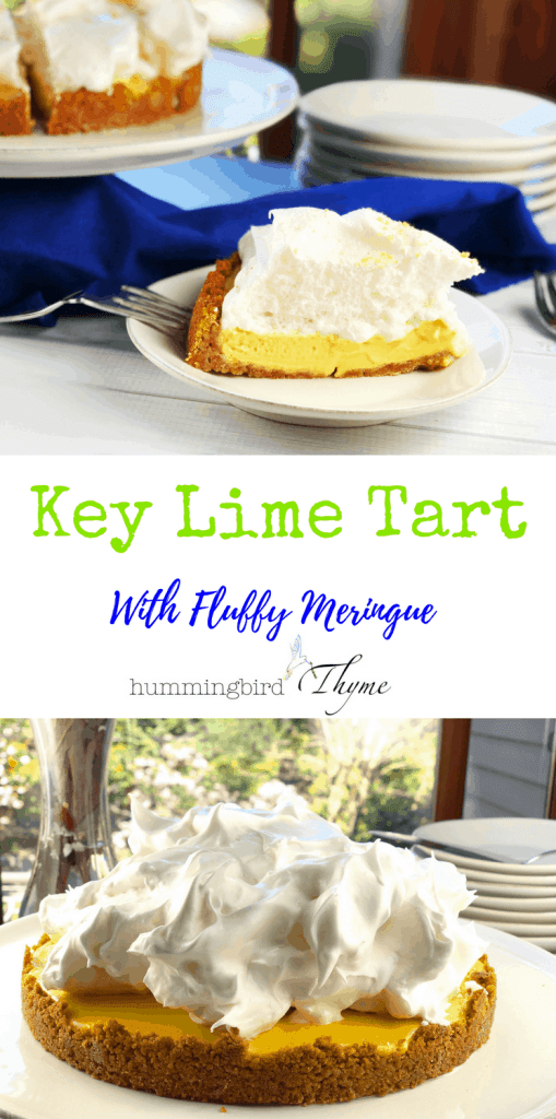 Key Lime Tart Meringue