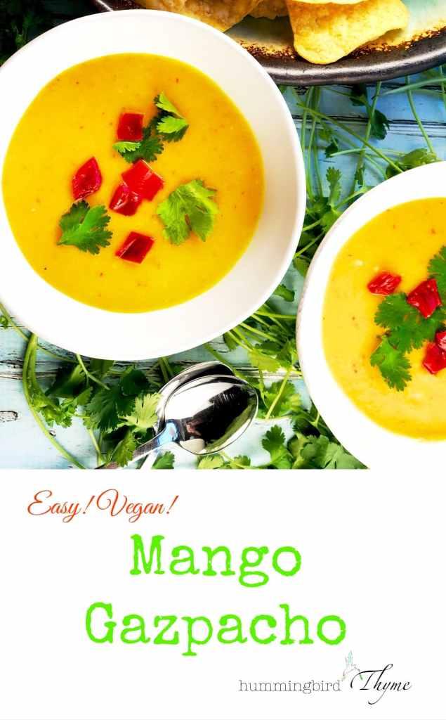 Refreshing Mango Gazpacho