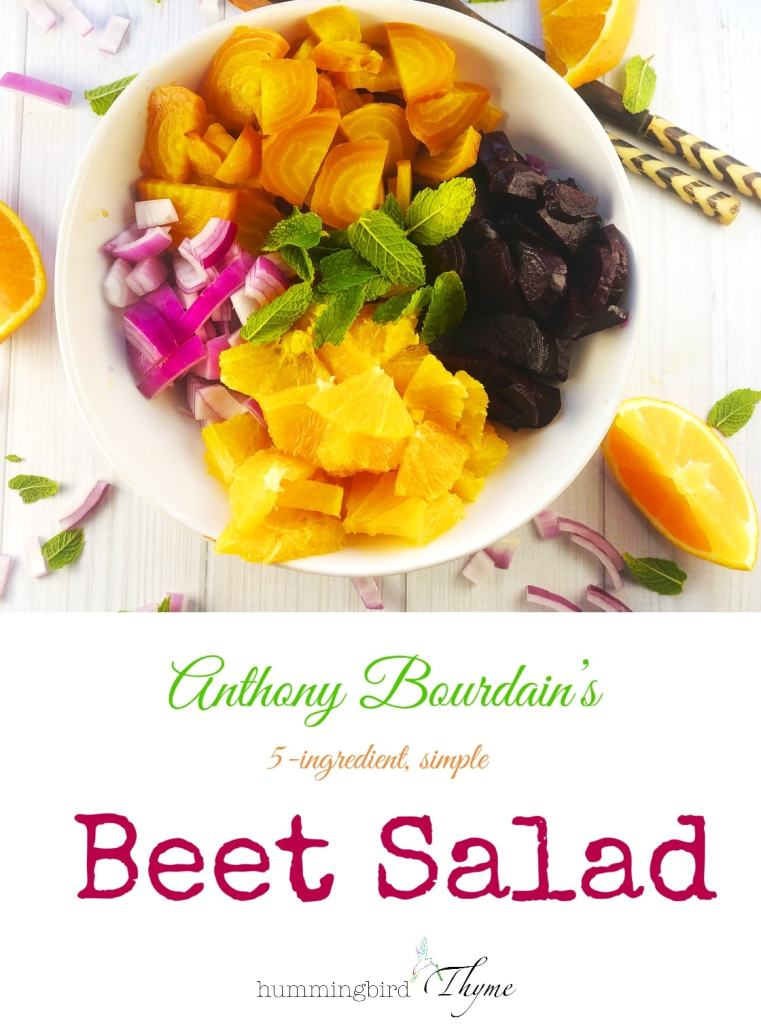 Anthony Bourdain Beet Salad
