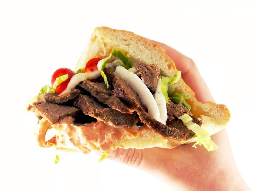 Döner Kebab Lamb Pita