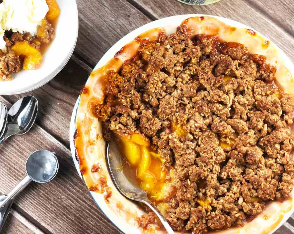 Best Peach Crisp Recipe
