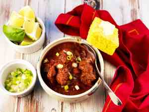 Spicy Ancho Chili with Beef