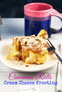 Ultimate Cinnamon Rolls Cream Cheese Frosting