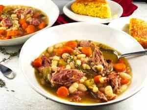 Ham and White Bean Stew