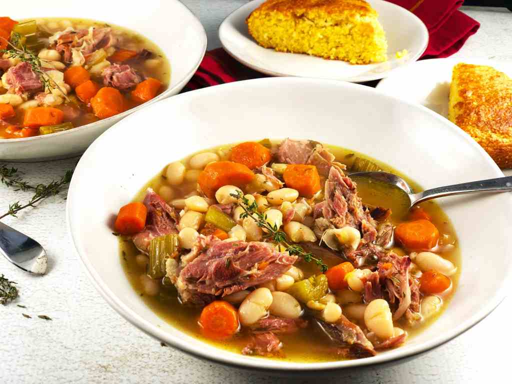 Ham and White Bean Stew