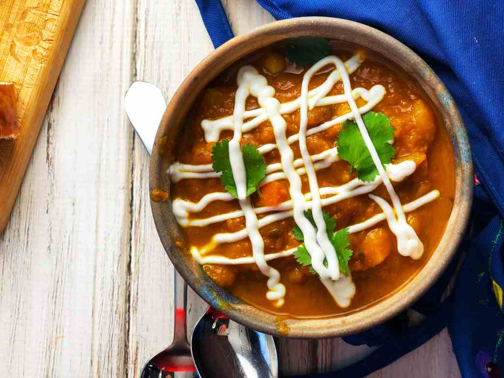 Vegan Moroccan Vegetable Soup