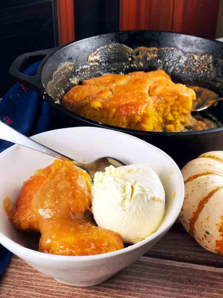 Maple Pumpkin Pudding Cake