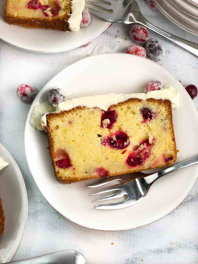 White Chocolate Cranberry Orange bread
