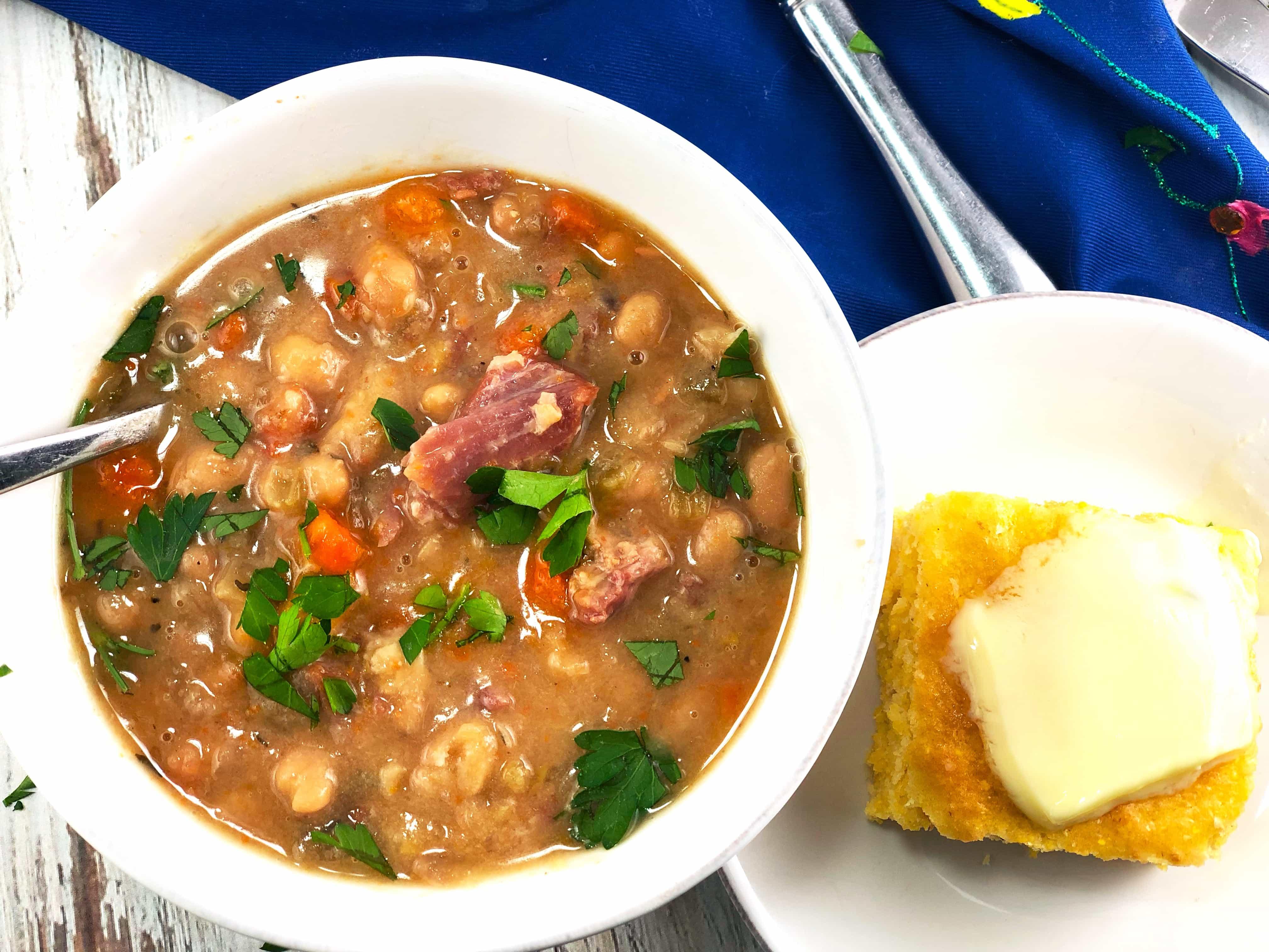Best Ham Bean Soup Instant Pot