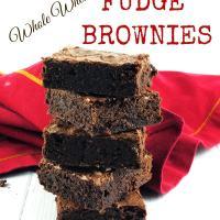 Whole Wheat Fudge Brownies