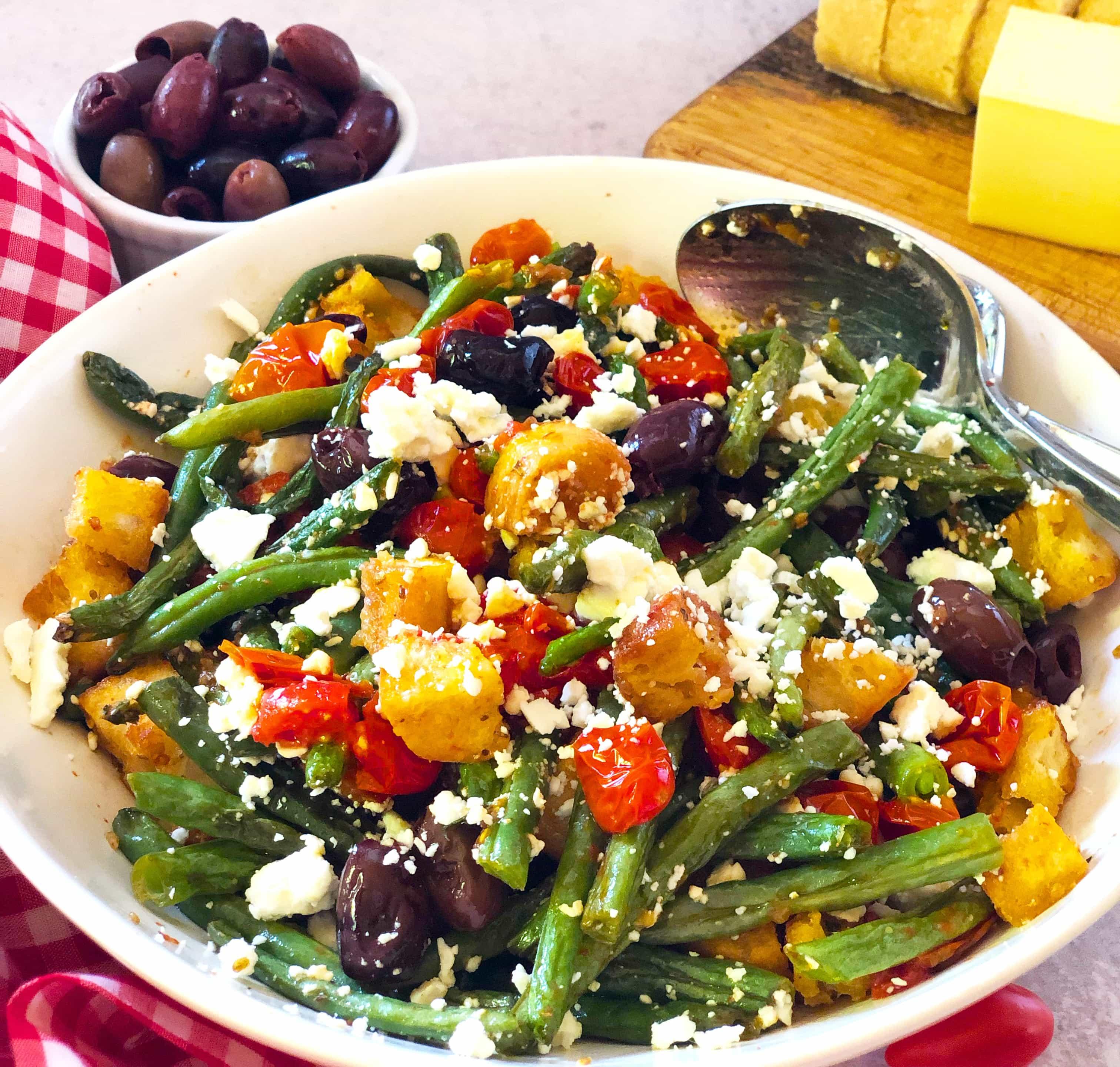 Green Beans Mediterranean Style