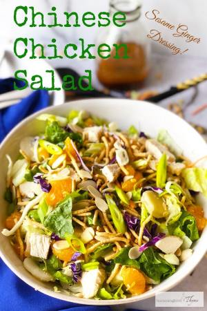 PIN for Chinese Chicken Salad