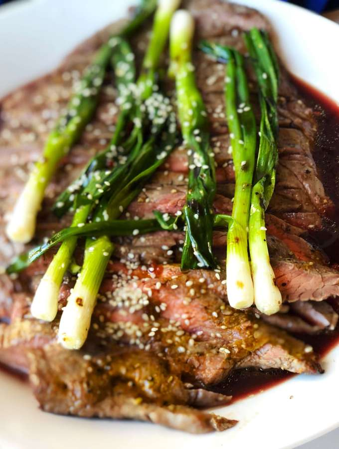 Reverse-Marinated Flank Steak