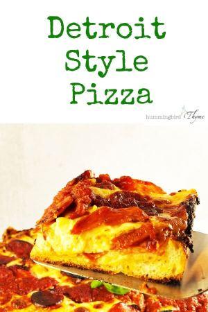Detroit Style Pizza