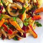 Sheet Pan Roasted Root Vegetables