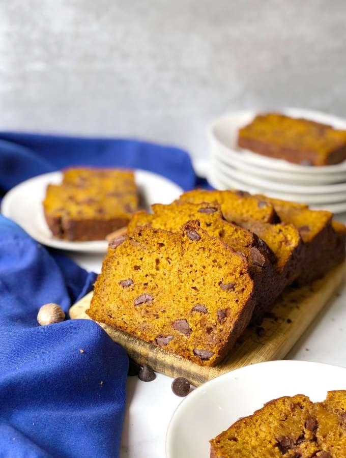 Best Pumpkin Chocolate Chip Bread