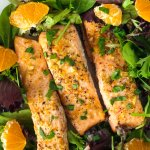 Za'atar Orange Salmon Recipe