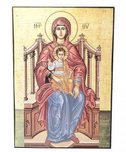 ΕΙΚΟΝΑ  ΠΑΝΑΓΙΑ ΙΗΣΟΥΣ ΧΡΙΣΤΟΣ 20Χ14CM  PX-165-153