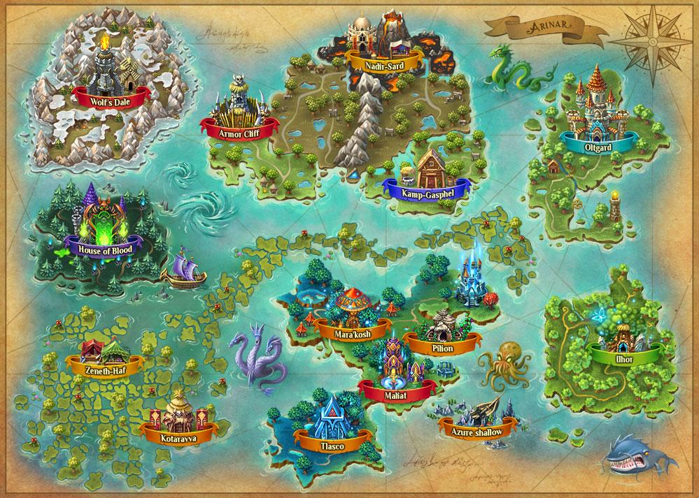 map di Warspear Online
