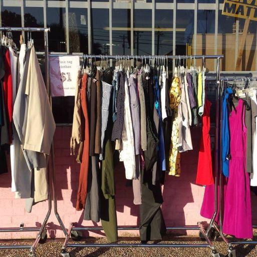 Fashion Bekas atau Thrift