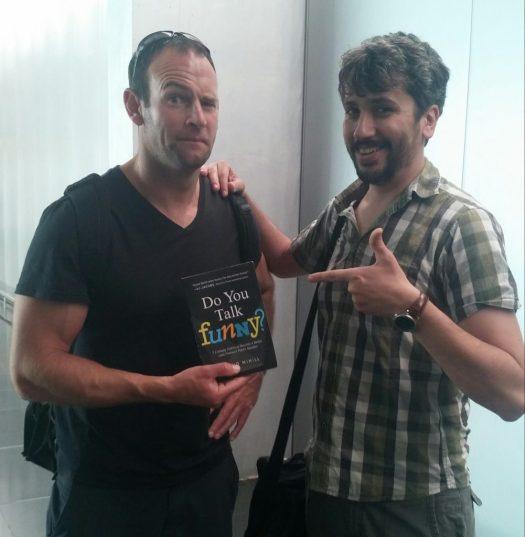 David Nihill y Carles Caño