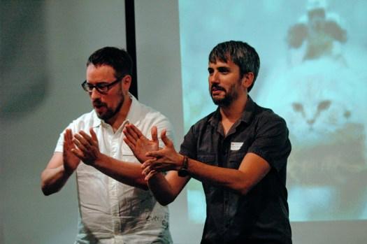 Roger Prat y Carles Caño
