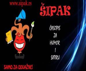 Dnes zo srbského internetového časopisu Šipak