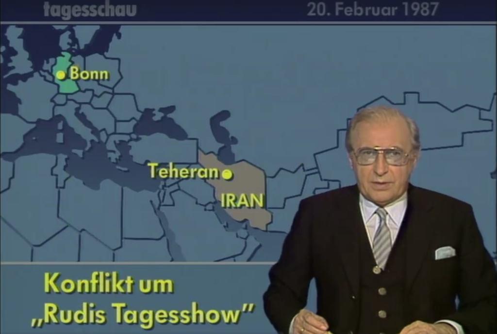 Die erste Staatsaffäre um Satire gab es schon 1987 mit dem Iran