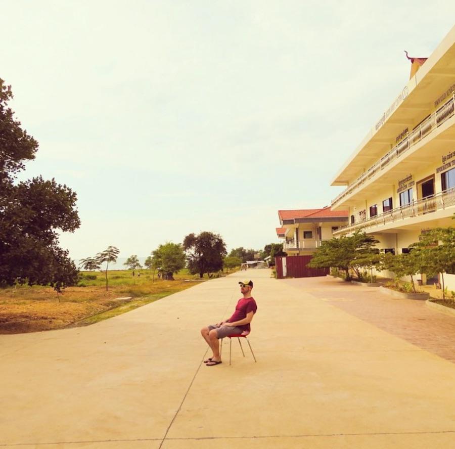 Nachdenklich in Kep, im Süden Kambodschas
