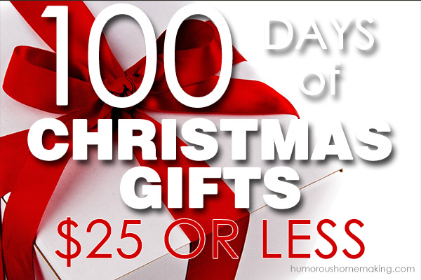 100 Days Of Christmas Gifts: $25 Or Less