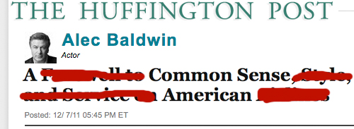 My Wishful Alec Baldwin Apology Issued By Press Agent