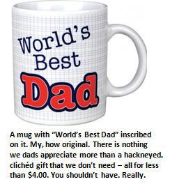 fathers day - mug