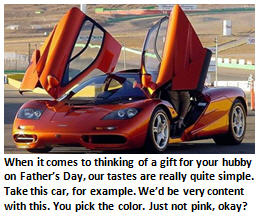 fathers day - sports car