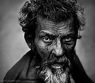 Haggard man