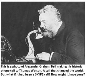 Alexander Graham Bell - historic call