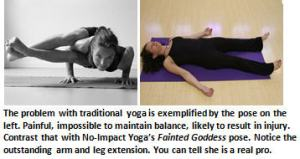No Impact Yoga - balance challenge