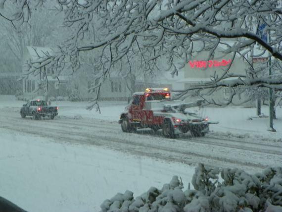 snowstorm Albion