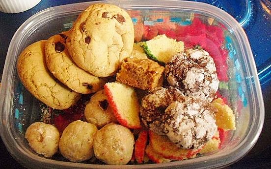 Cookies straight overhead