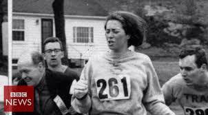Image result for first woman boston marathon