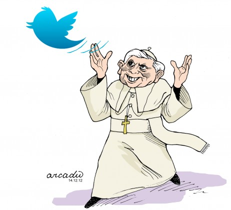 Papa adere ao Twitter