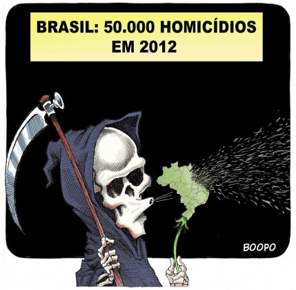 50 mil assassinatos em 2012