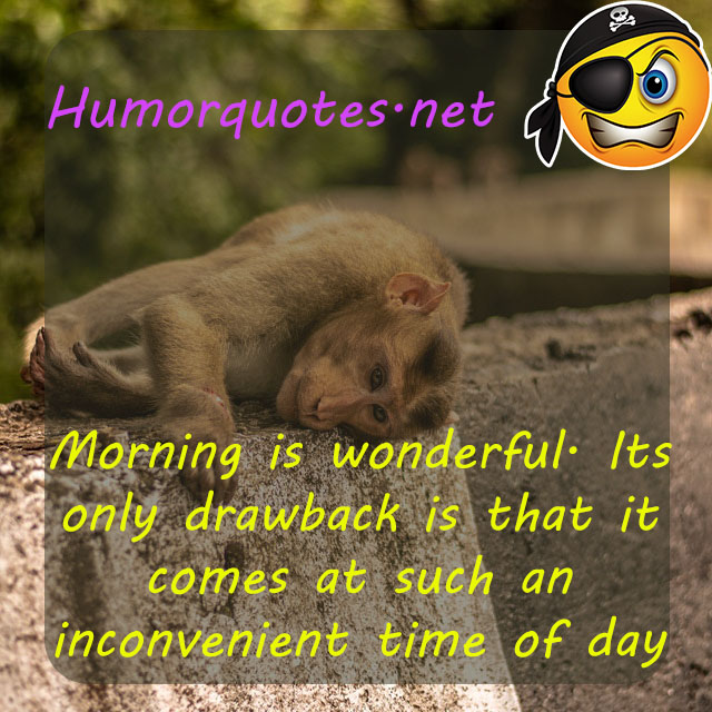 good morning sarcastic quotes