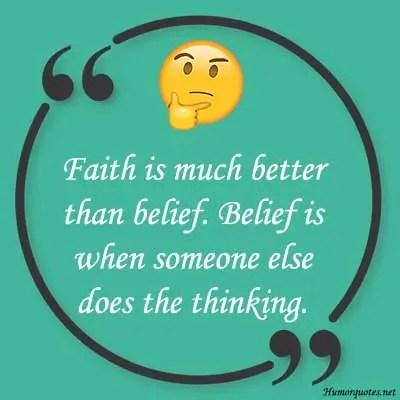 faith humor sayings