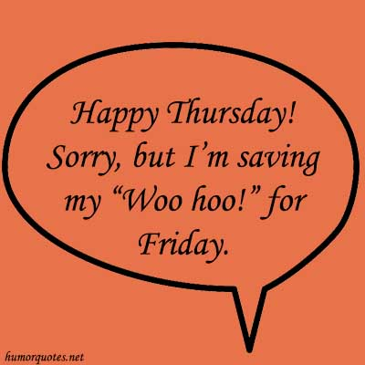 funny thursday quotes for work
