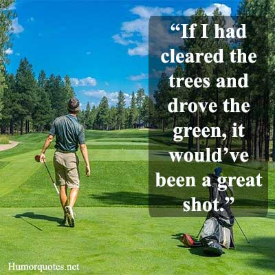 golf quotes funny