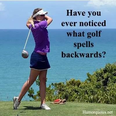 short golf sayings