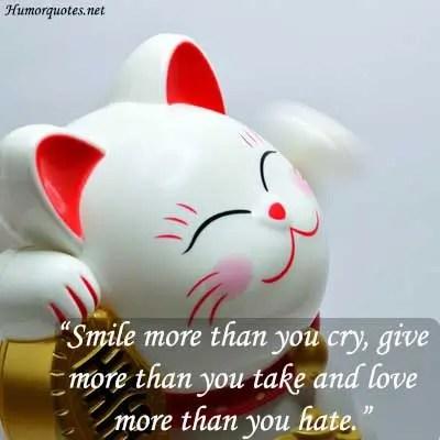 smile humor love saying