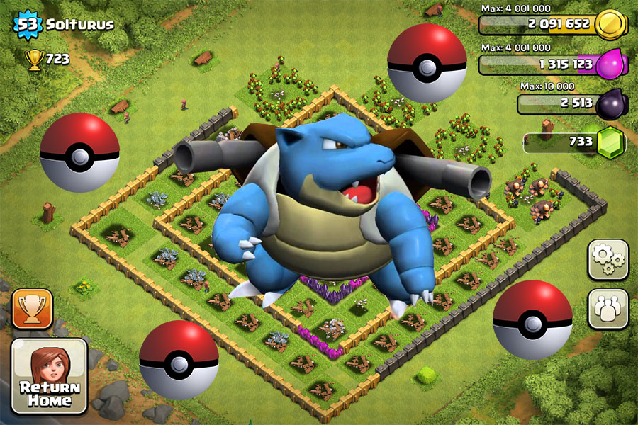 Pok    mon Go killed Clash of Clans Pokemon Go