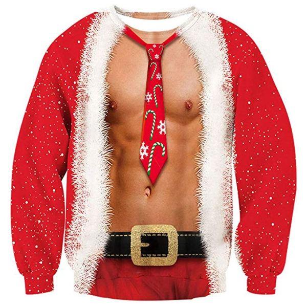 Sweater à Manches Longues Fun Noël