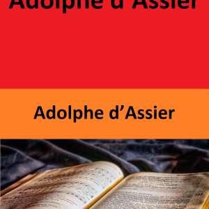 4 Œuvres de Adolphe d'Assier